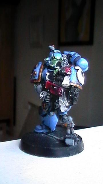 Bionics, Sternguard, Tyrannic Veteran, Ultramarines, Veteran