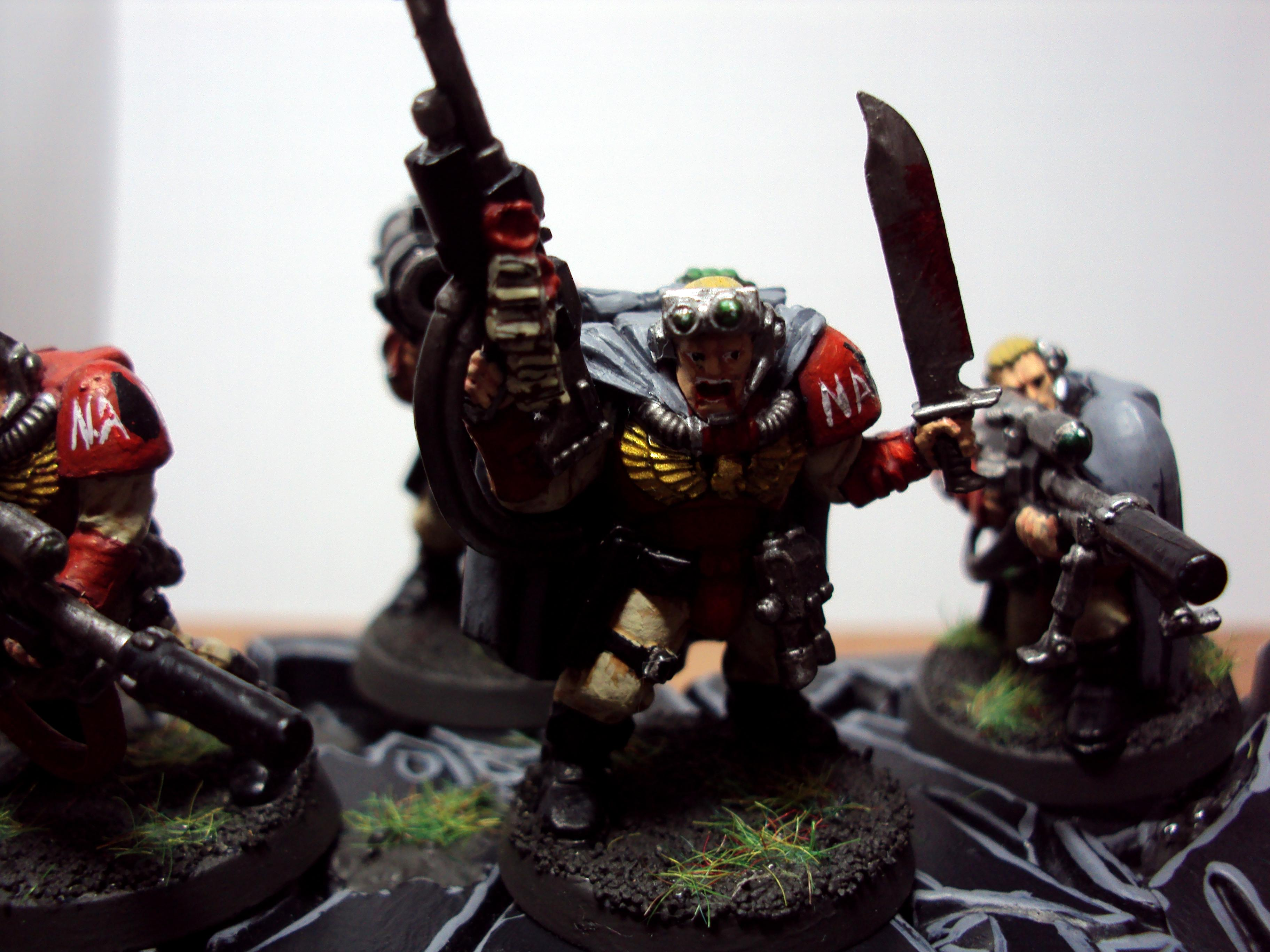 Blood Angels, Scouts, Snipers, Space Marines