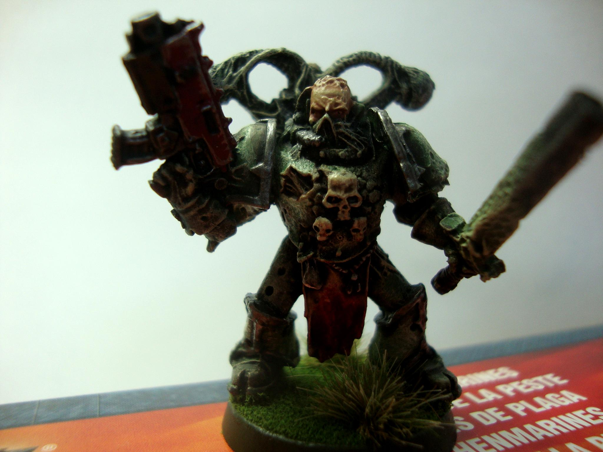 Bolter, Champion, Chaos, Chaos Space Marines, Death Guard, Destroyer Plague, Disease, Gore, Mortarion, Mutation, Nurgle, Plague, Plague Marines, Space Marines, Typhus, Warhammer 40,000