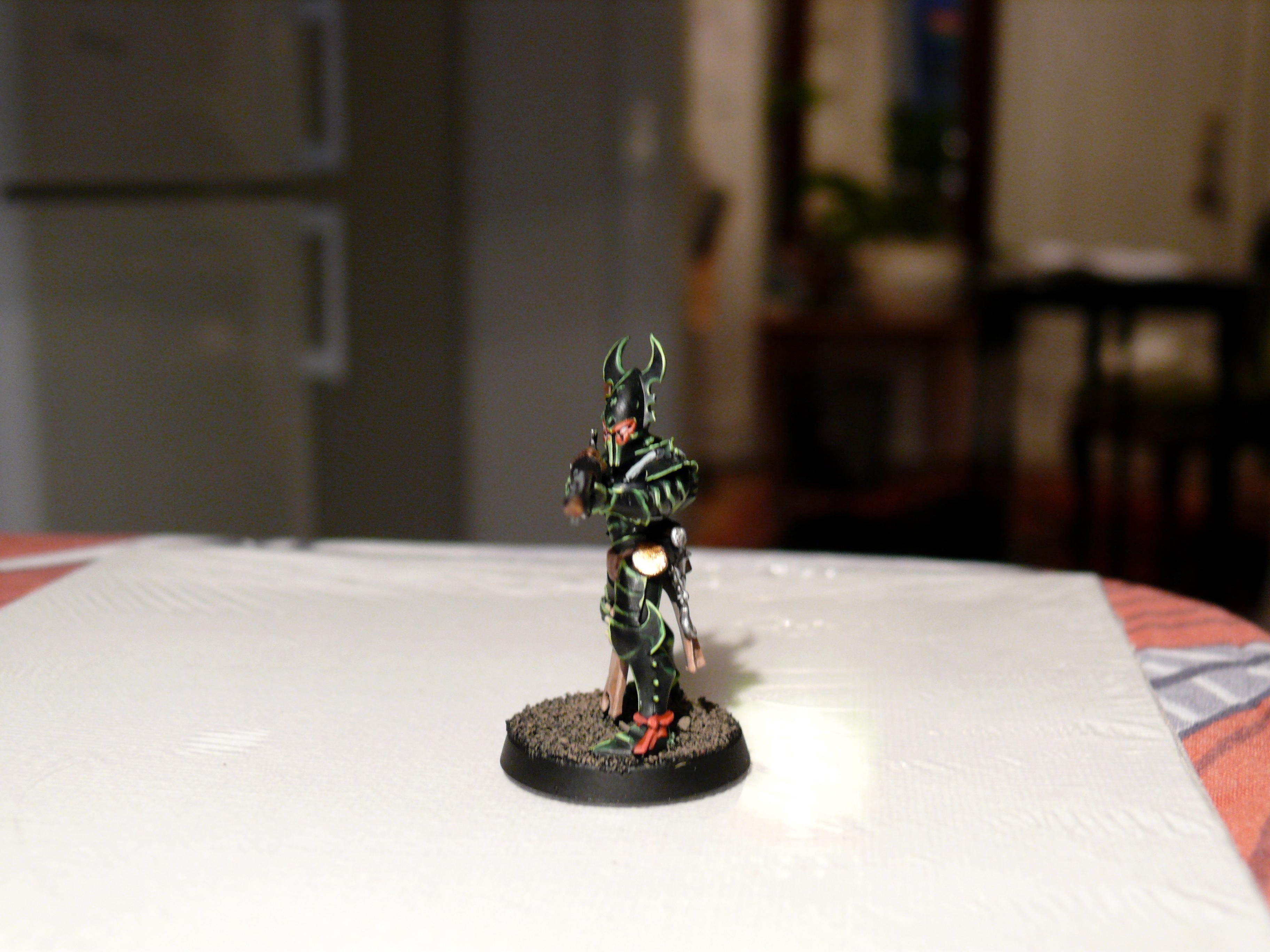 Dark, Eldar, Kabalite, Rifle, Splinter, Warriors