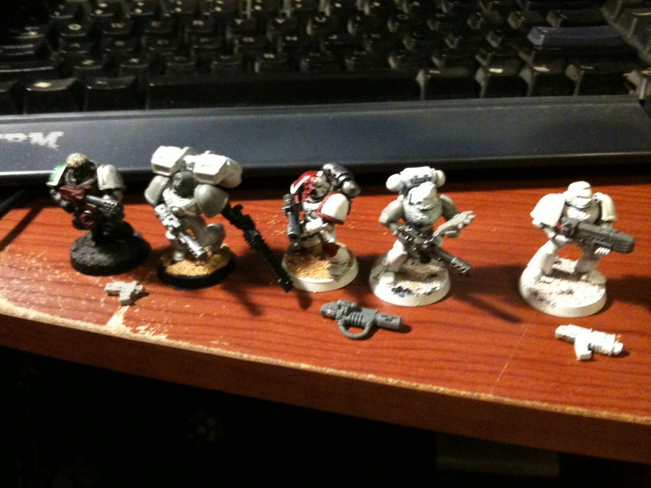 Assault, Bolt Pistol, Boltgun, Flamer, Magnet, Meltagun, Plasma, Power Armor, Space Marines, Tactical, Warhammer 40,000