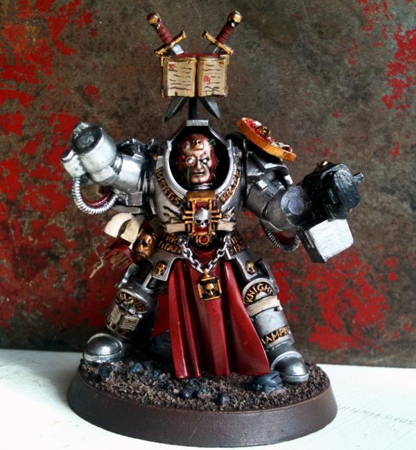 Face, Grey, Grey Knights, Justicar, Knights, Painting, Warhammer 40,000, Warhammer Fantasy