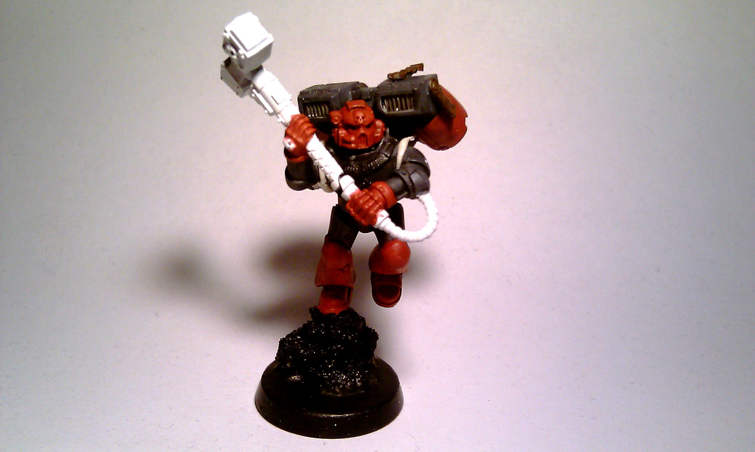 Assault, Chapter, Marine Sergeant, Soh, Sons Of Hepheastus, Space Marines, Work In Progress