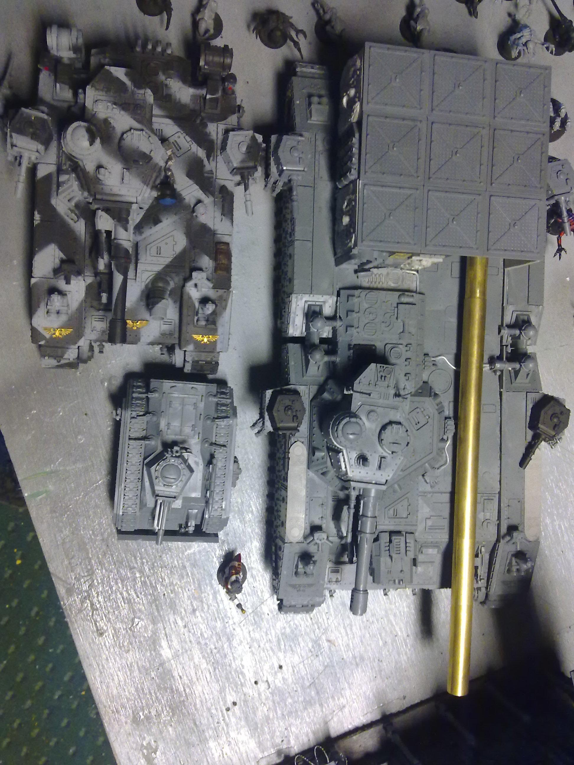28mm, Awesome, Baneblade, Conversion, Cool, Huge, Imperial, Scratc Build, Warhammer 40,000