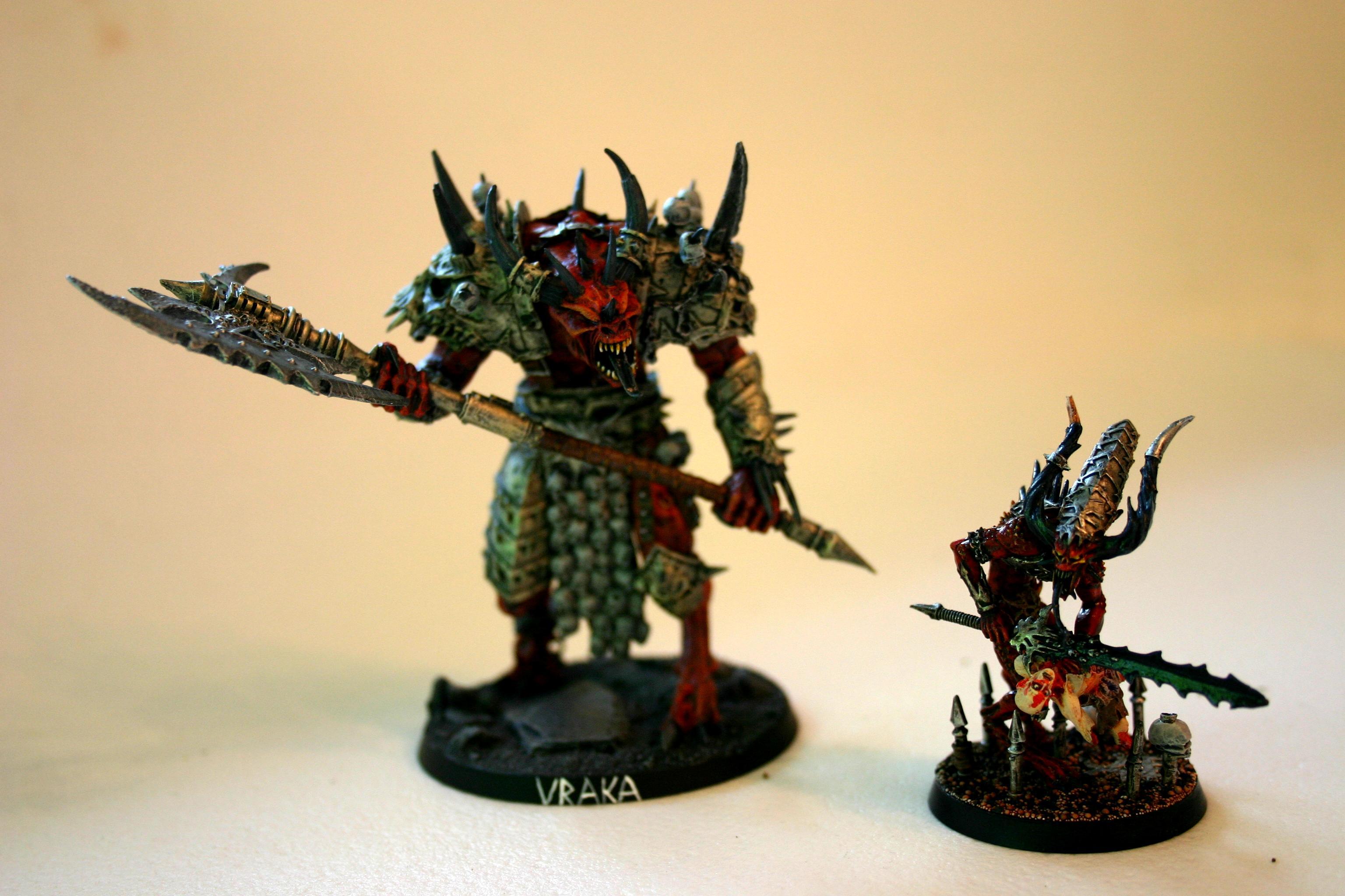 Forge World, Greater Daemon, Herald Of Khorne, Uraka