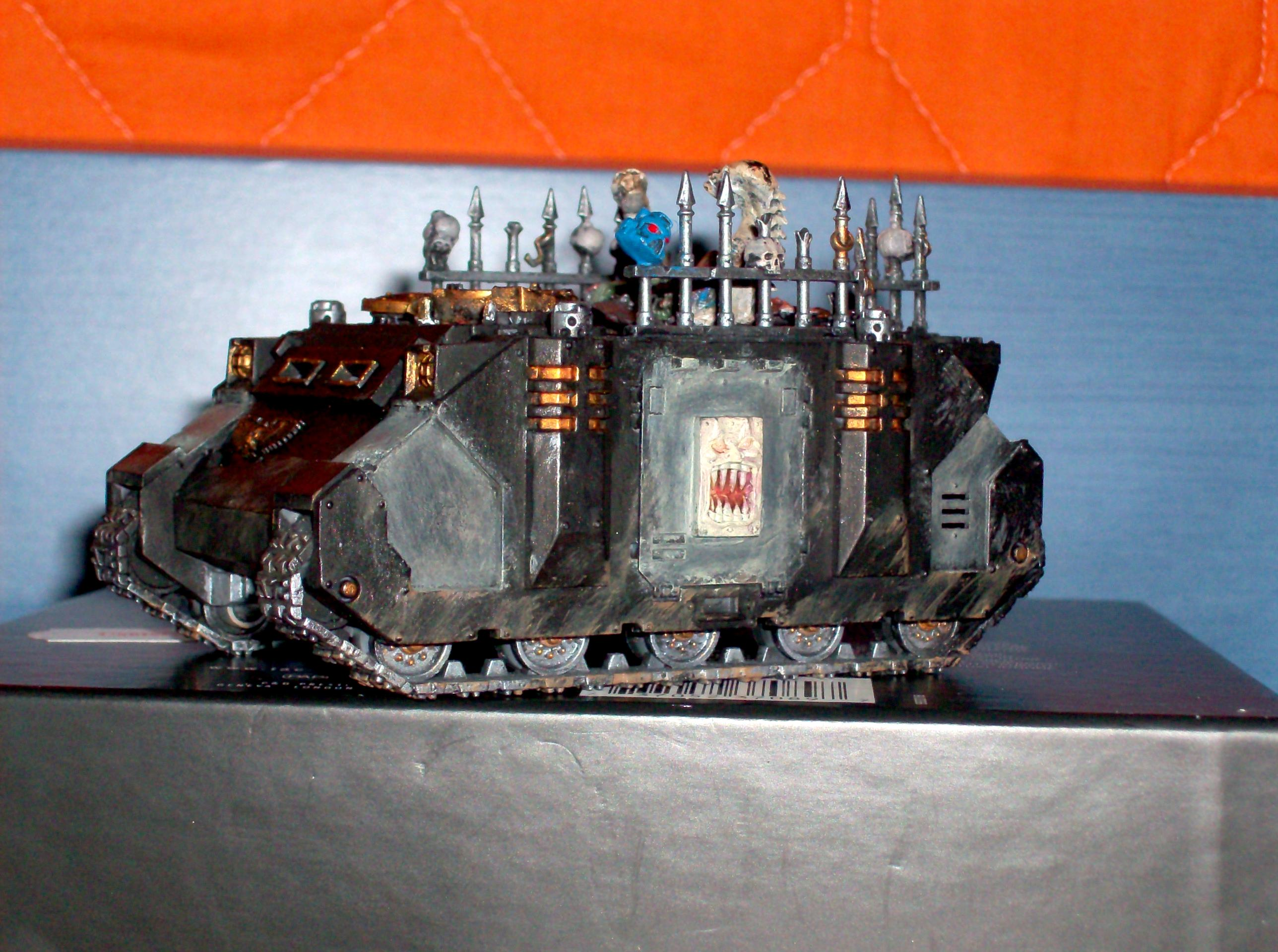 Black Legion, Chaos Painting, Chaos Rhino, Chaos Tanks