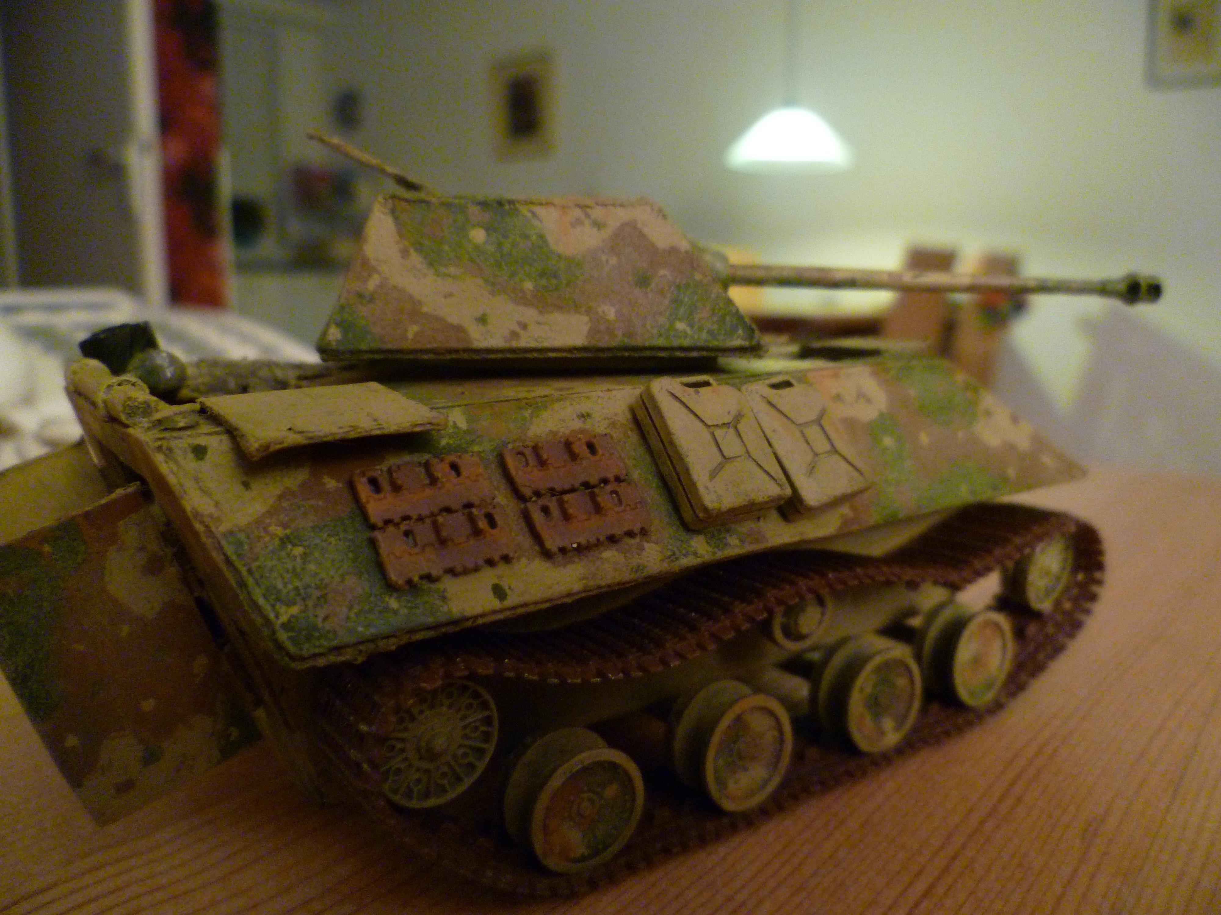 Panther, Tank, World War 2