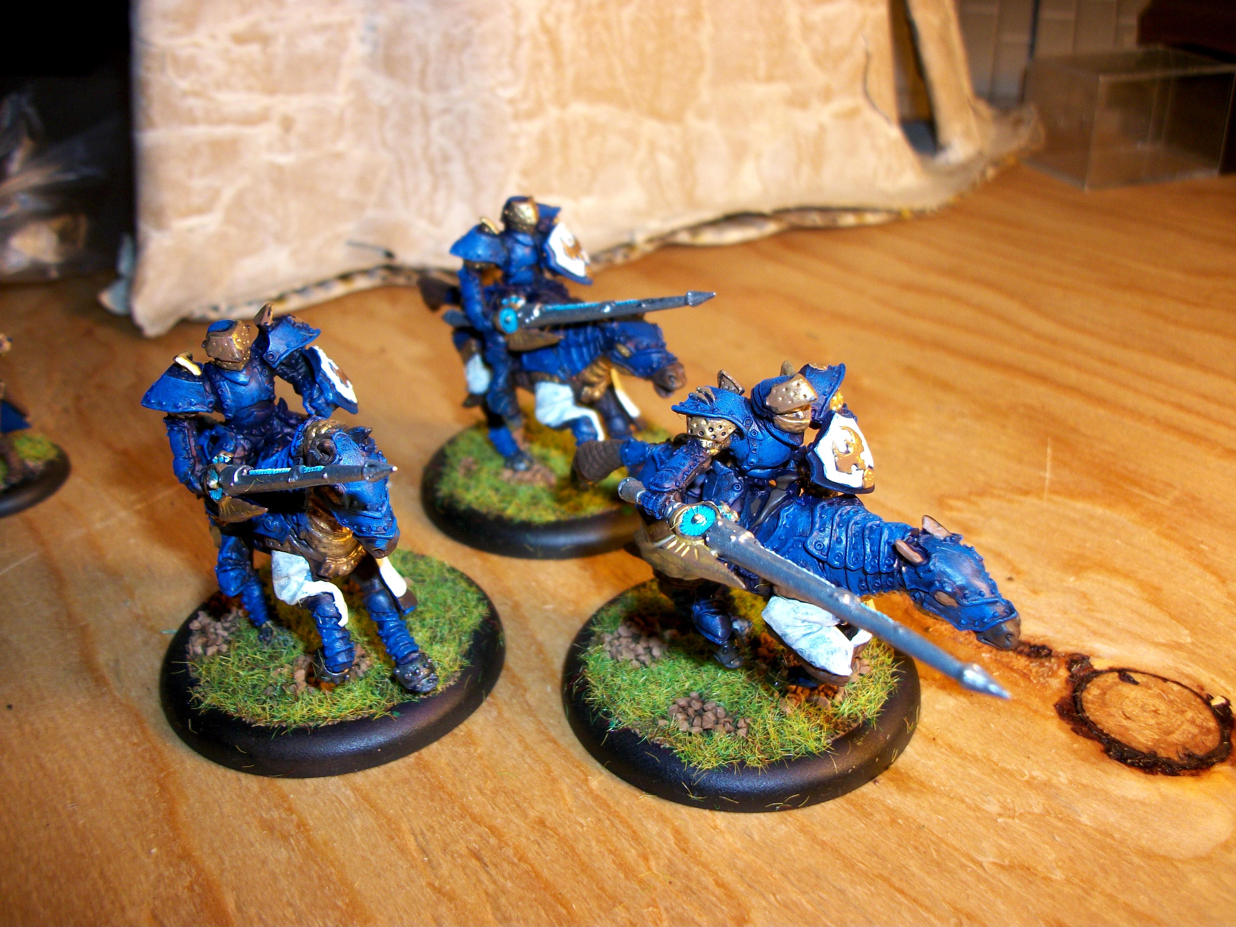 Cavalry, Cygnar, Stormlance, Unit, Warmachine