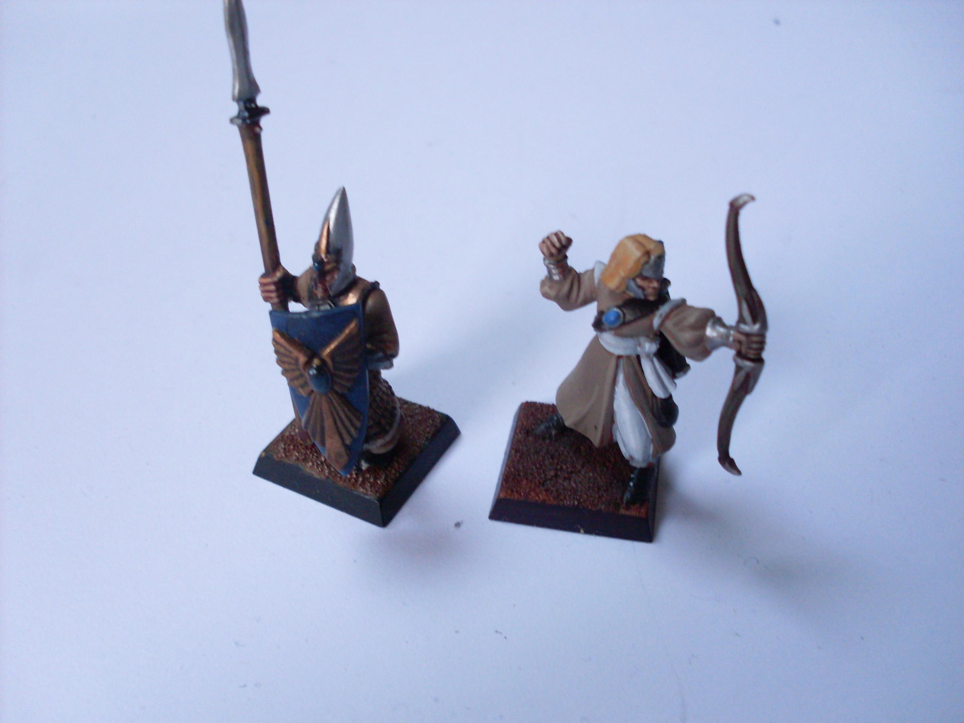 Archers, Elves, High, Spearmen