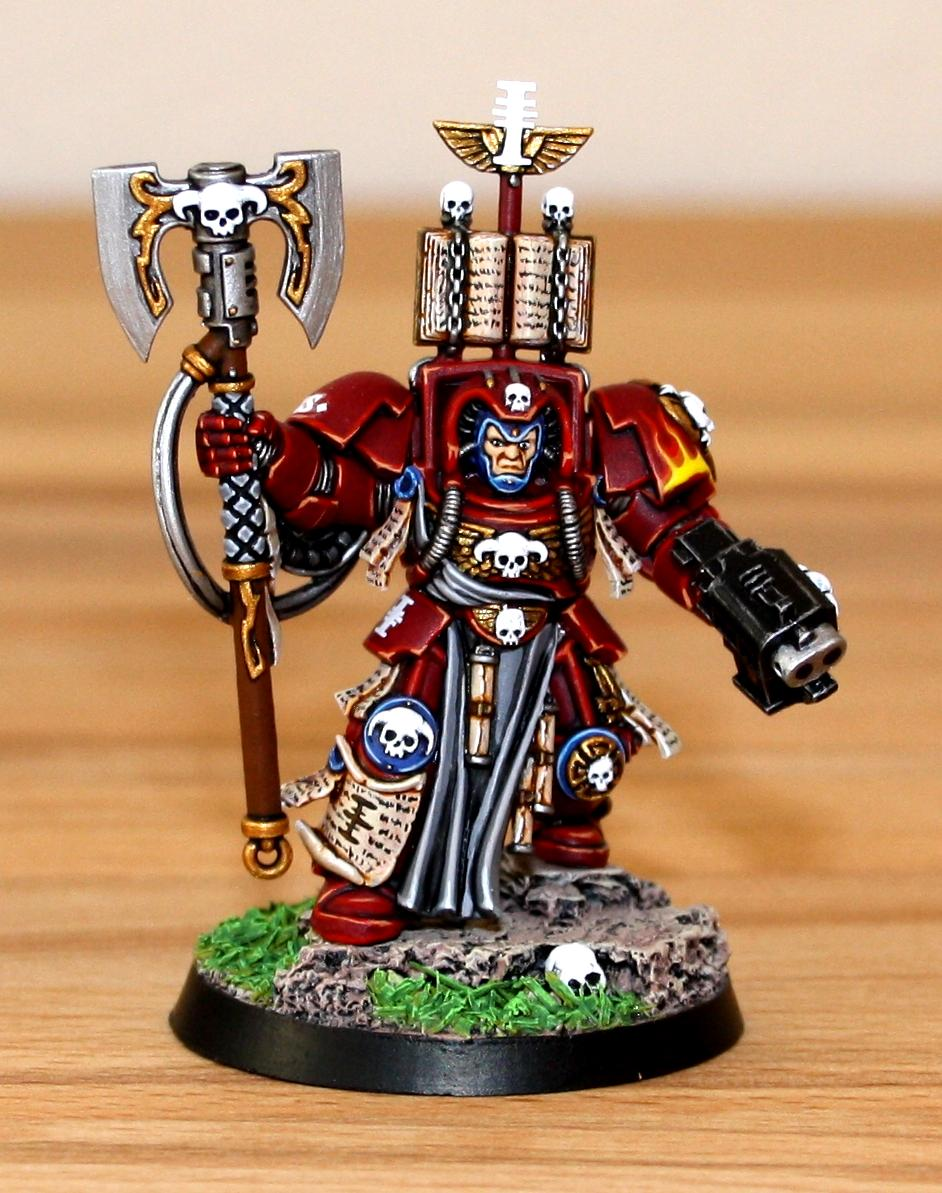 Librarian, Red Hunters, Space Hulk, Space Marines, Terminator Armor, Warhammer 40,000