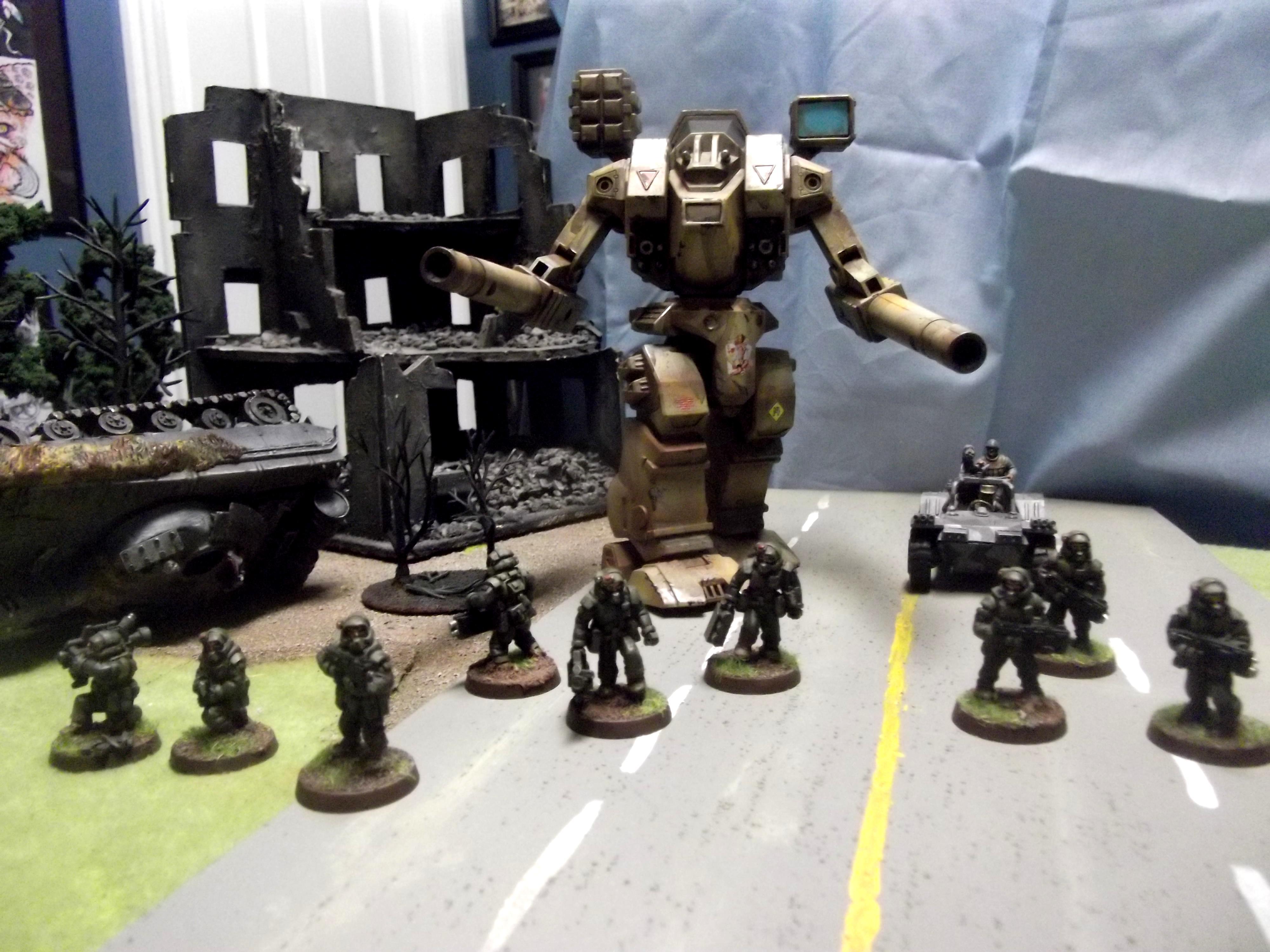 Battletech, Destroid, Knights, Macross, Mecha, Pig Iron, Robotech, Titan, Tomahawk