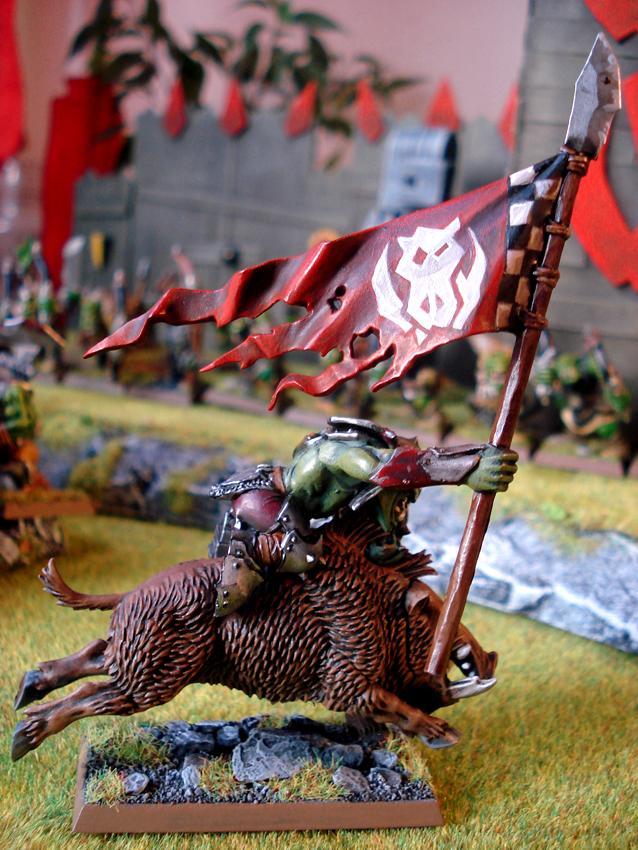 Banner, Freehand, Orcs, Warhammer Fantasy