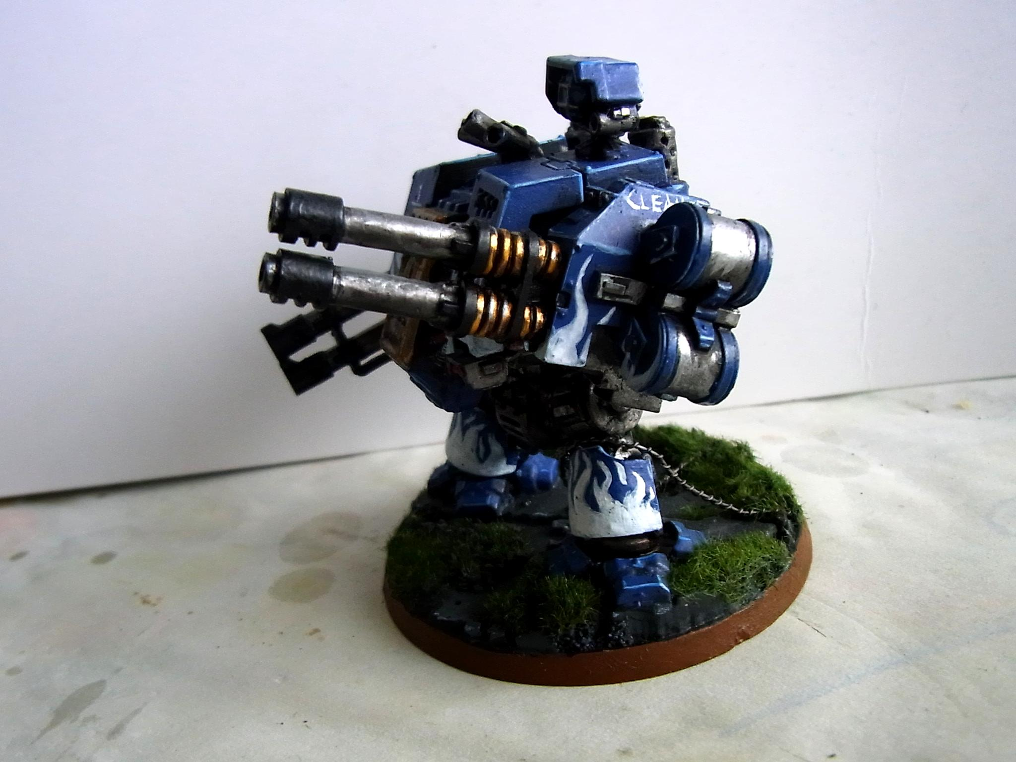 Autocannon, Dreadnought, Rifleman, Space Marines, White Swords