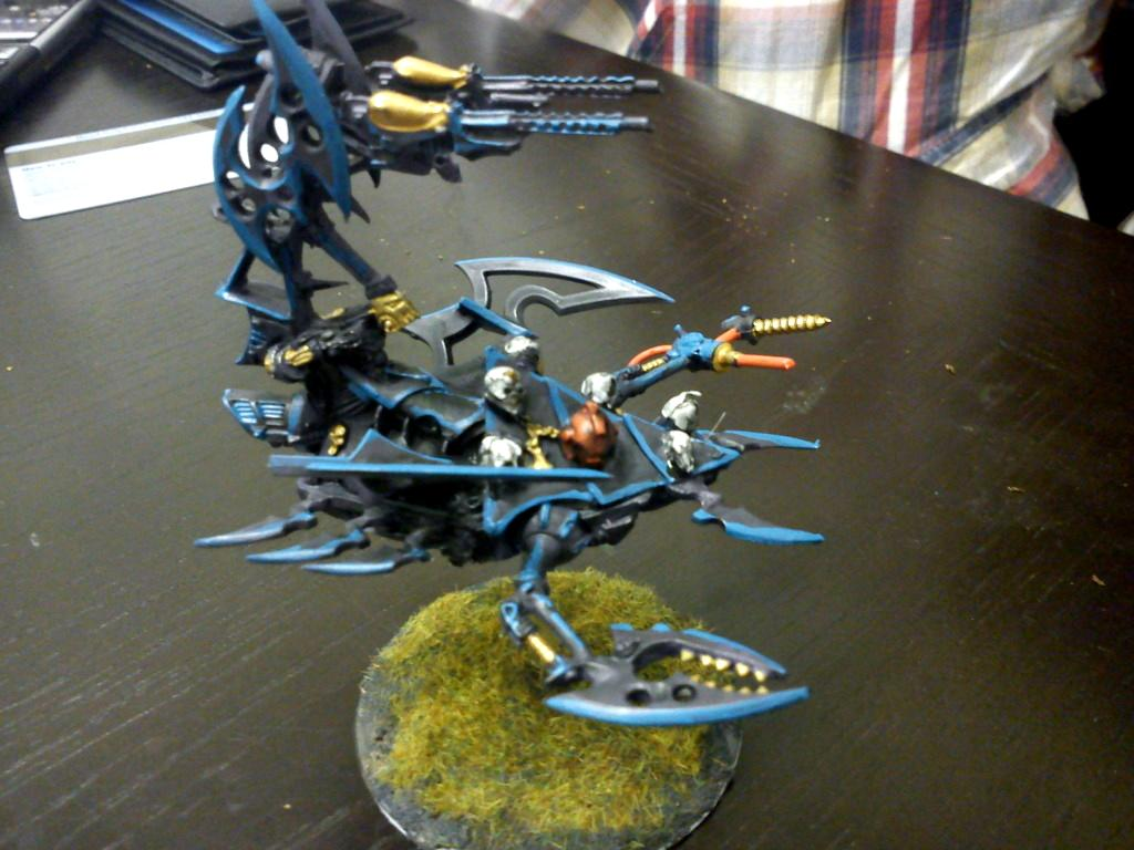 Blue, Dark Eldar, Pain