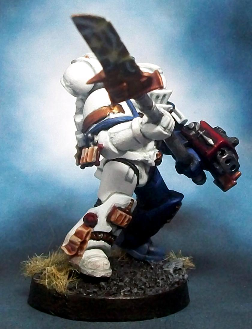 Close Combat, Grey Knights, Power Glaive, Spacemarine