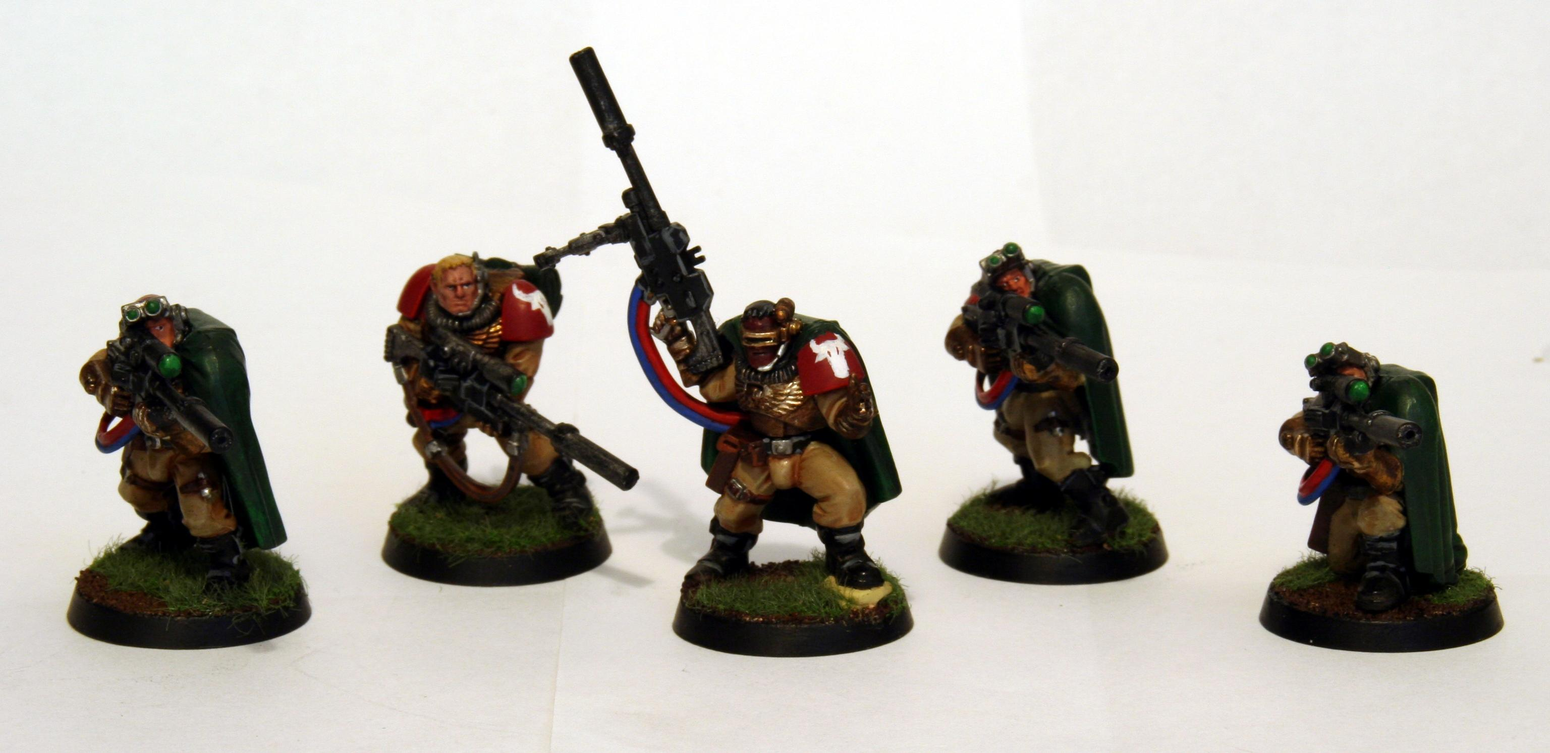 Scouts, Snipers, Space Marines, Squad