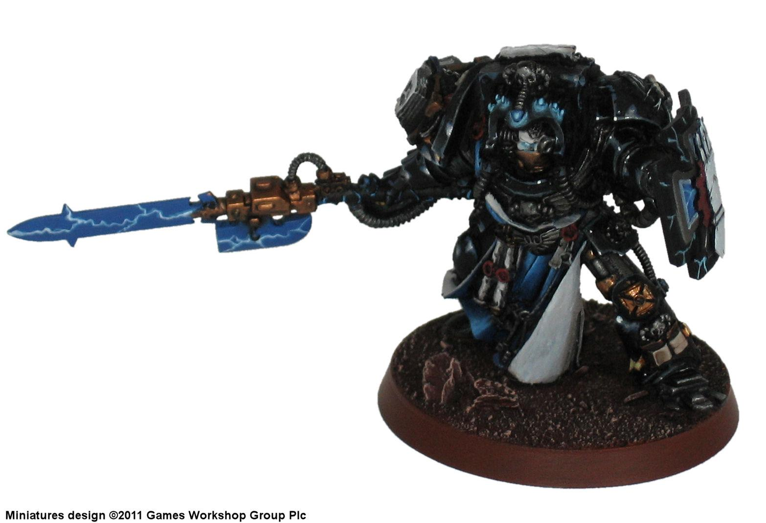Conversion, Hands, Iron, Librarian, Madeus, Science-fiction, Space, Space Marines, Warhammer 40,000, Warhammer Fantasy