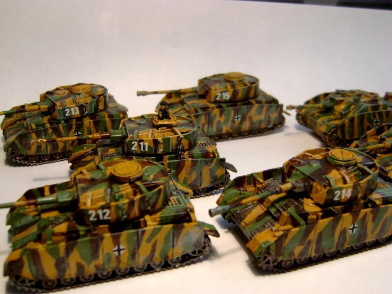 Flames Of War, My Panzer Unit