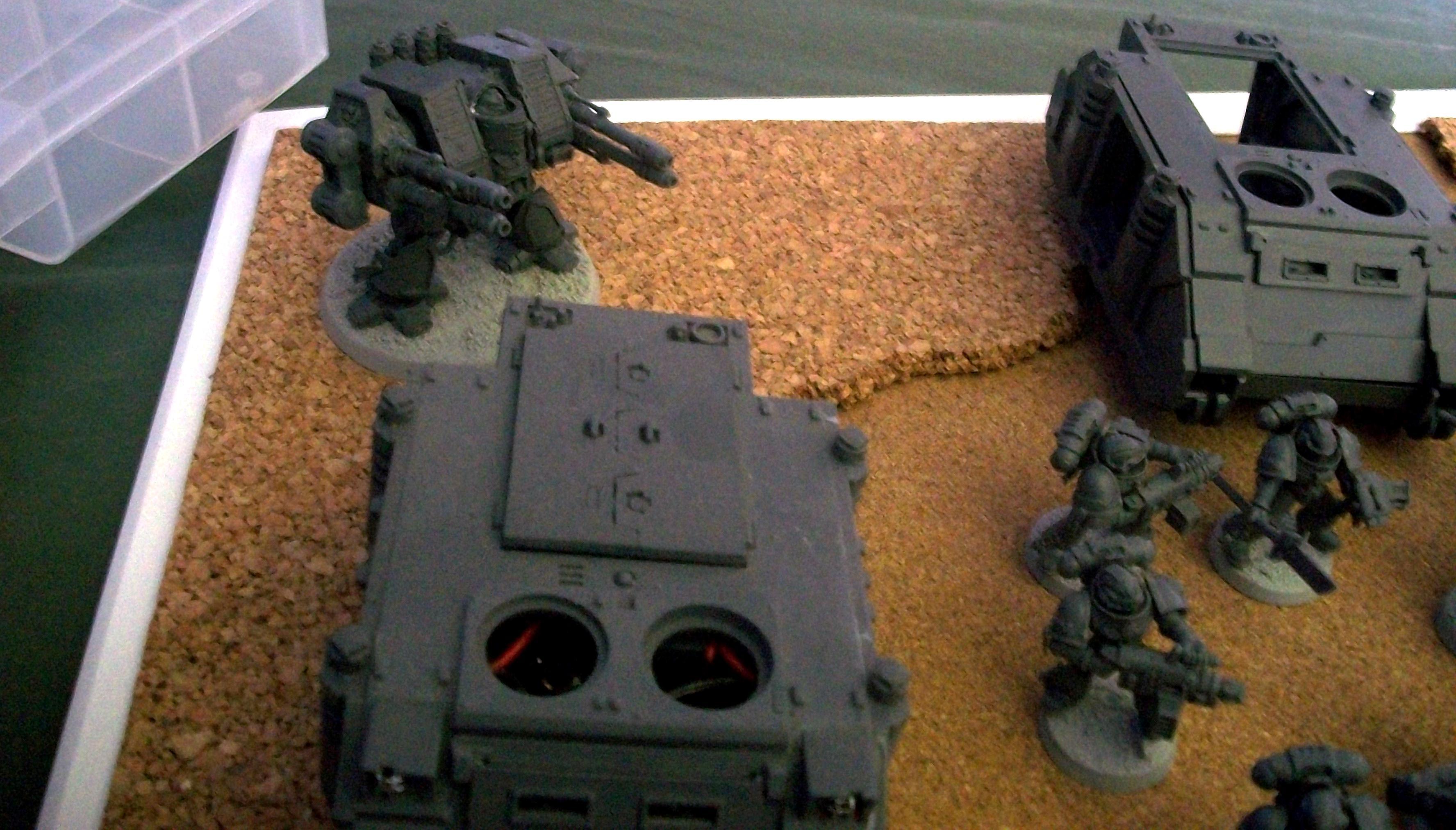 Primered, Showcase, Space Marines, Warhammer 40,000, Work In Progress