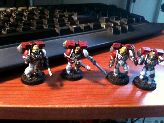 Assault Marines, Space Marines, Warhammer 40,000, Work In Progress