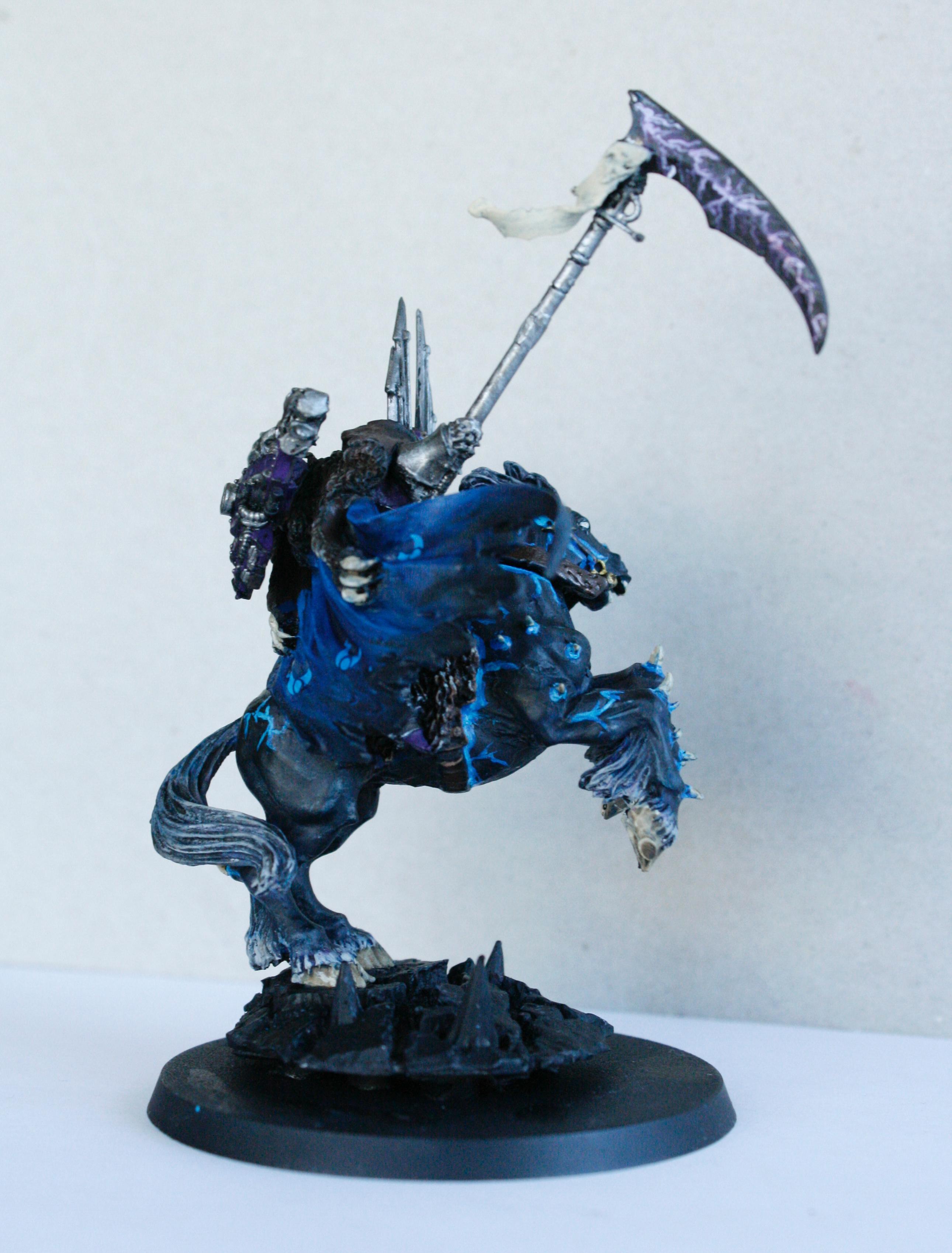 Chaos, Daemonic Mount, Scythe, Sorcerer, Tzeentch