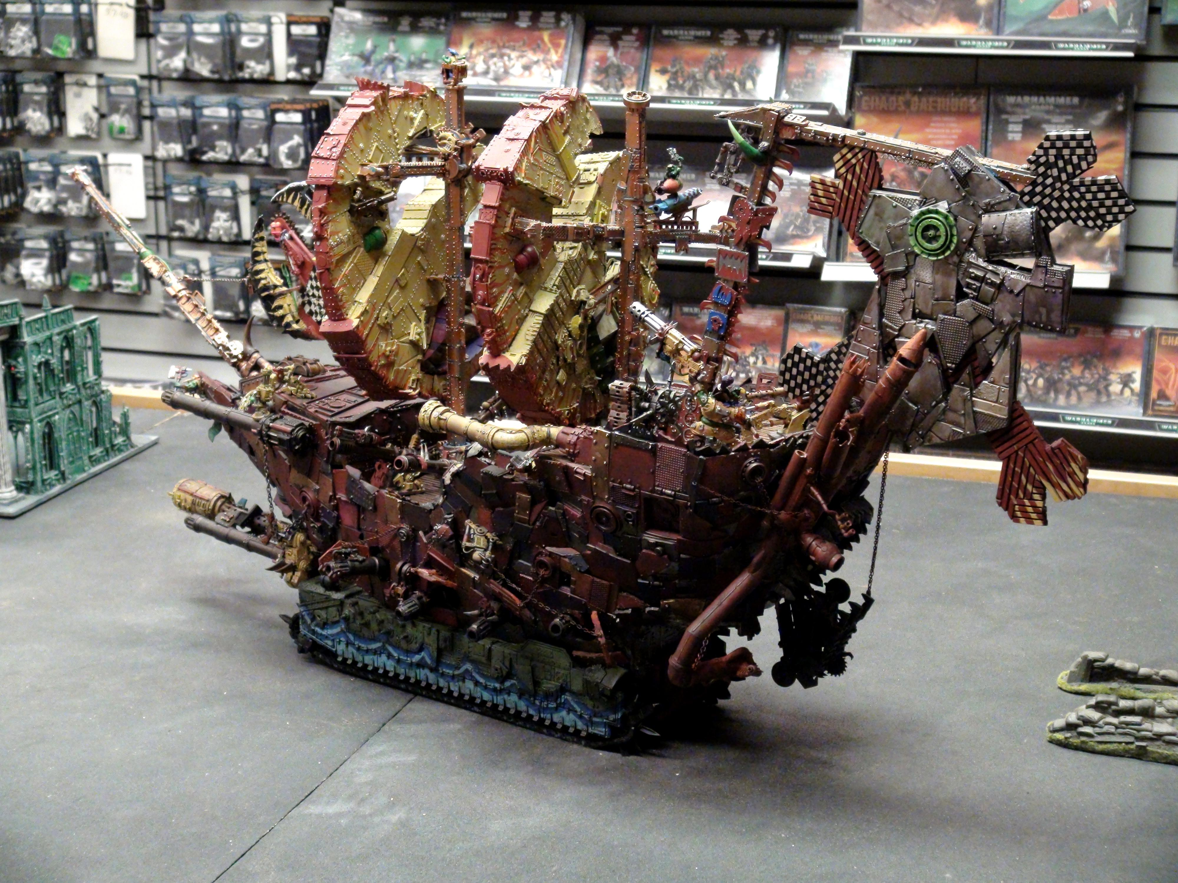 Awesome, Conversion, Orks, Super-heavy, Warhammer 40,000