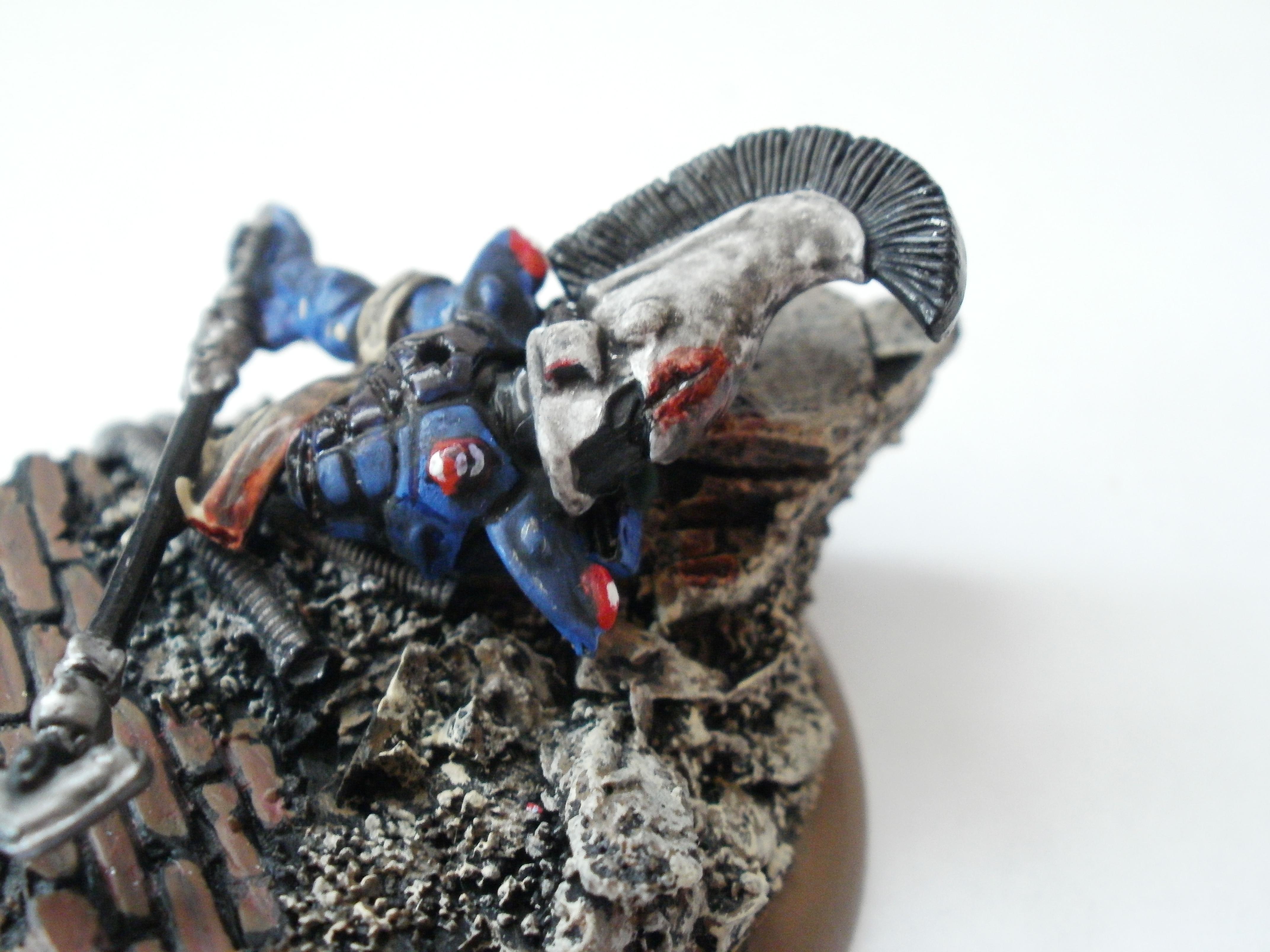 Dead Eldar Dire Avenger Close-Up