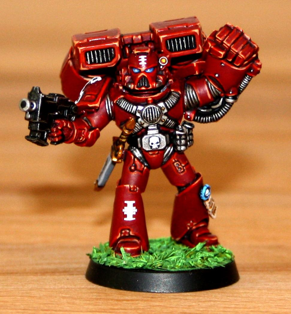 Assault, Red Hunters, Space Marines