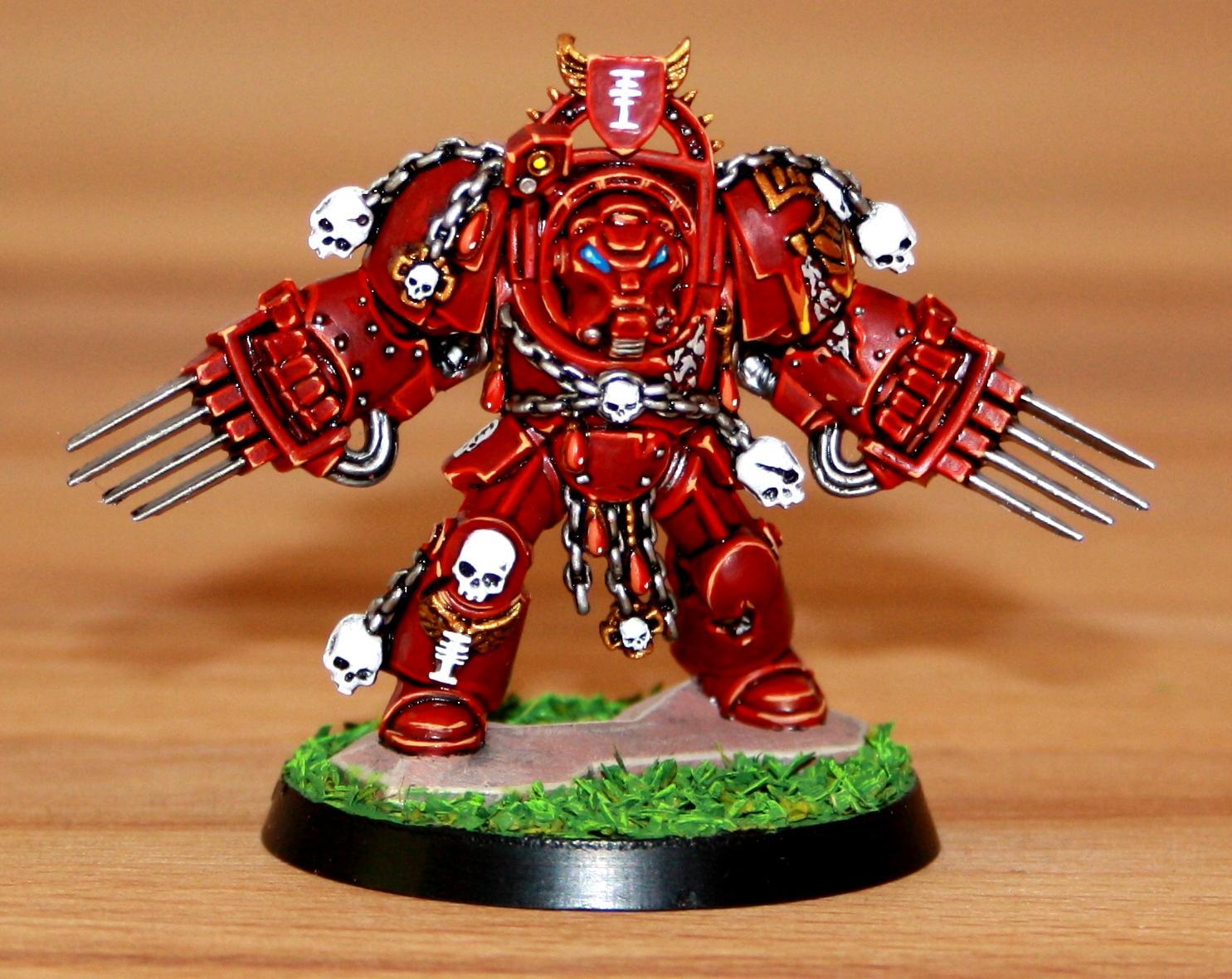 Red Hunters, Sapce Marines, Space Hulk, Terminator Armor