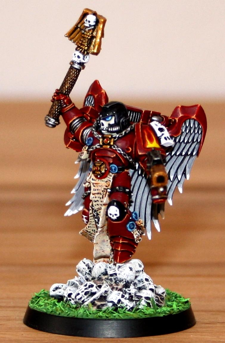 Chaplain, Red Hunters, Space Marines