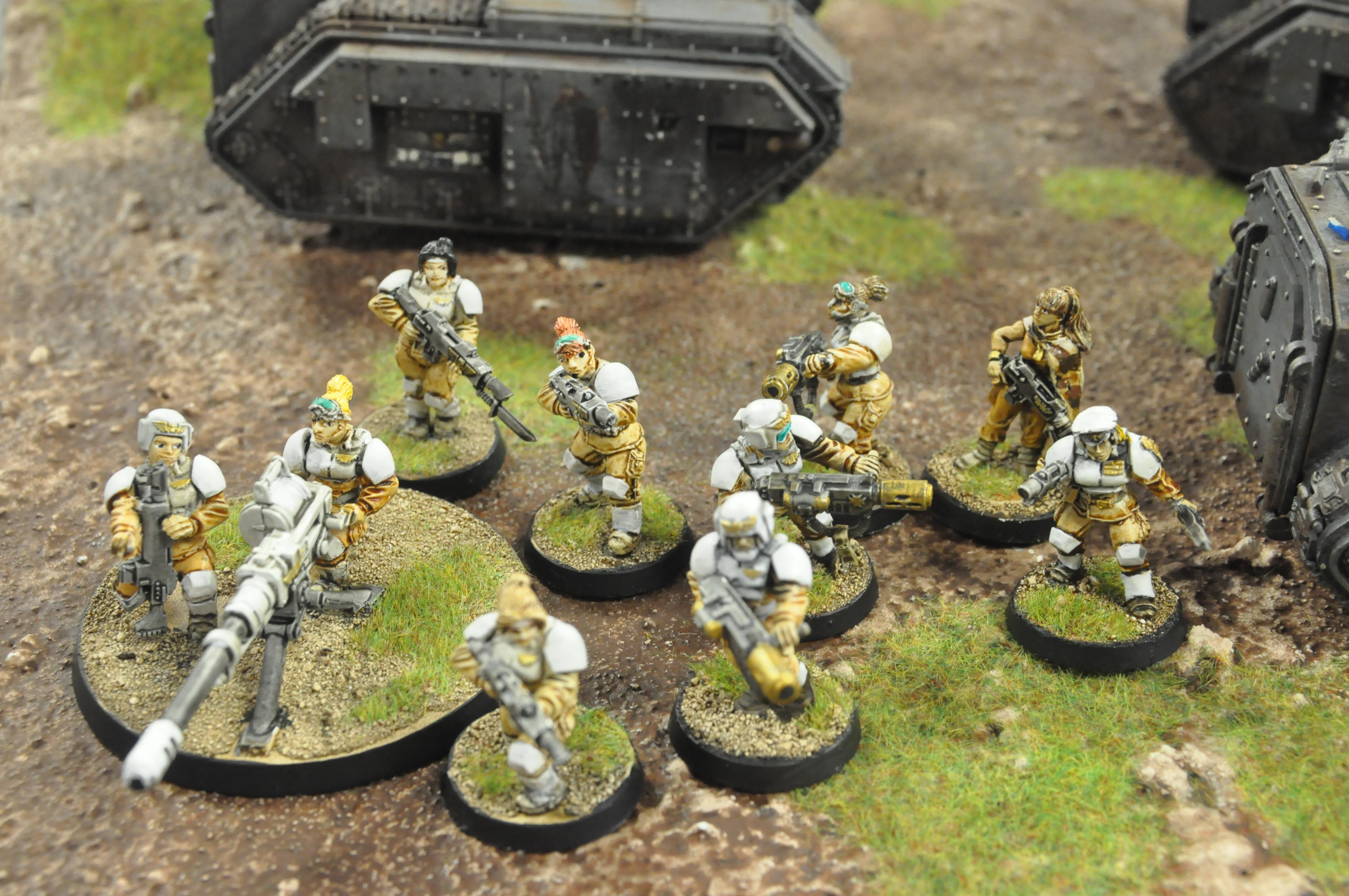 Imperial Guard, Veteran Squad