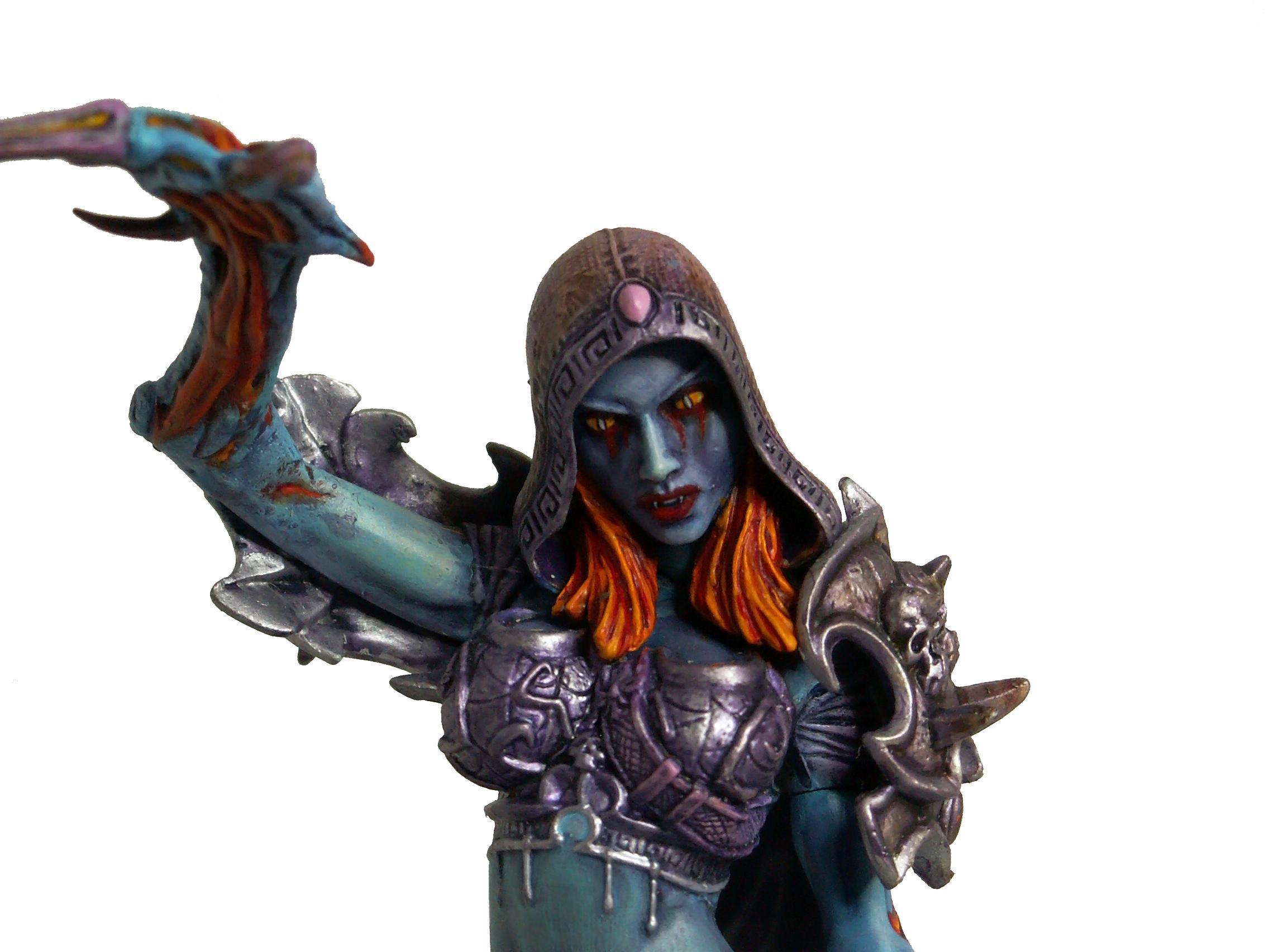 Chaos, Chaos Daemons, Conversion, Daemons, Defiler, Slanesh, Soul Grinder, Walker, Warhammer 40,000, Warhammer Fantasy