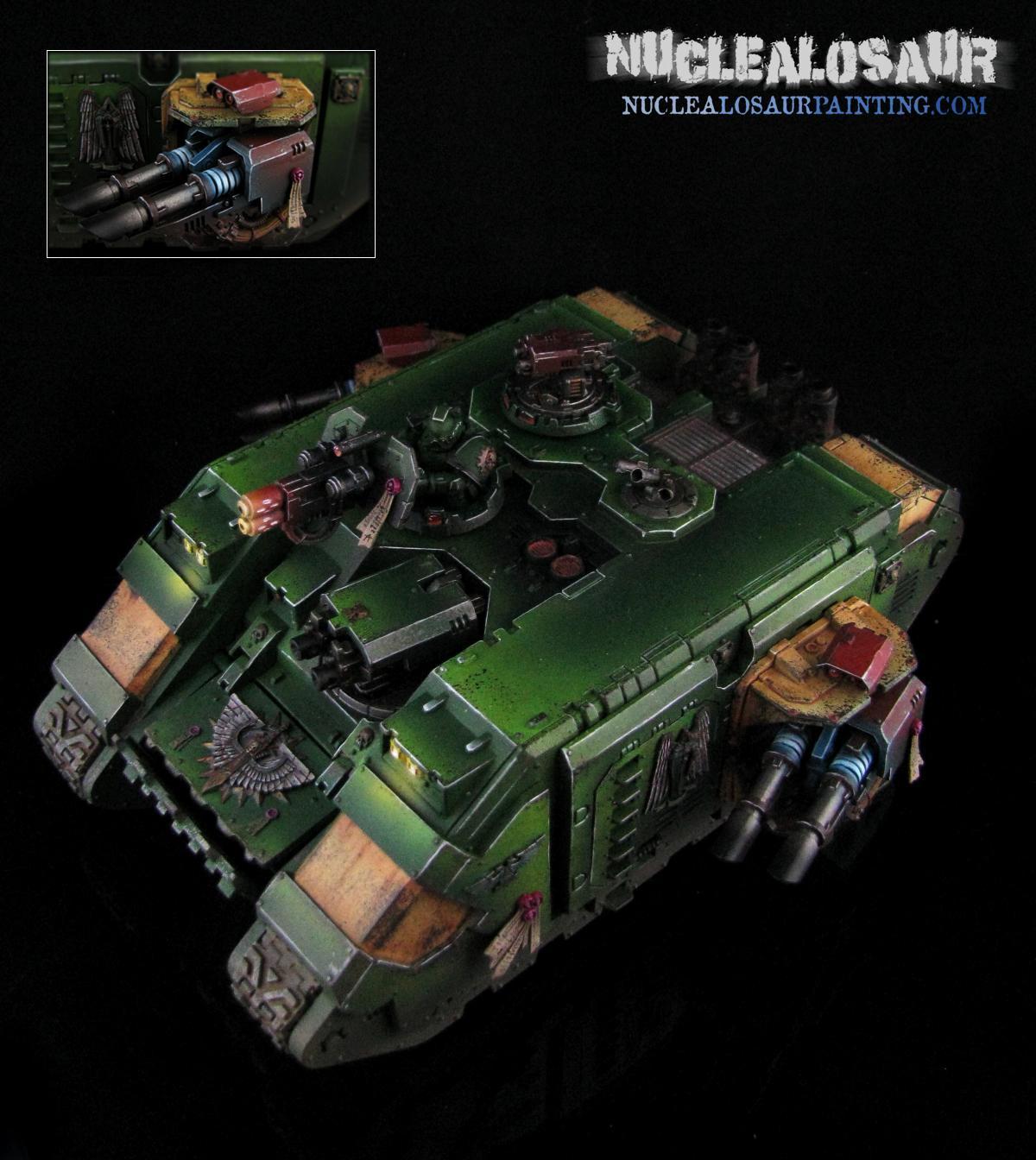Dark Angels, Land Raider., Warhammer 40,000