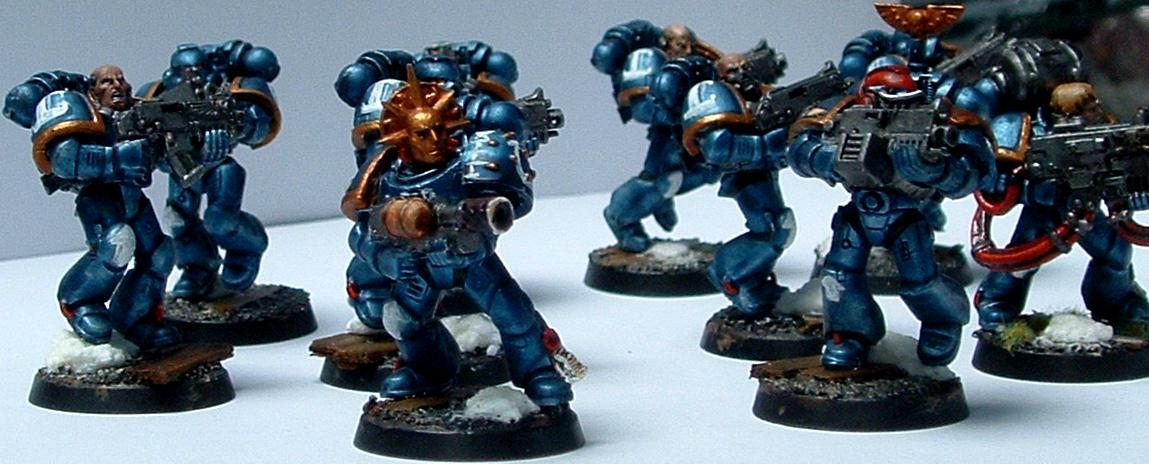 Metallic, Tactical, Ultramarines