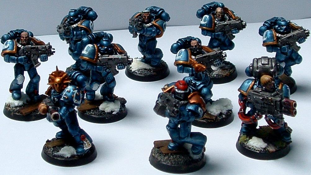 Metallic, Tactical, Ultramarines