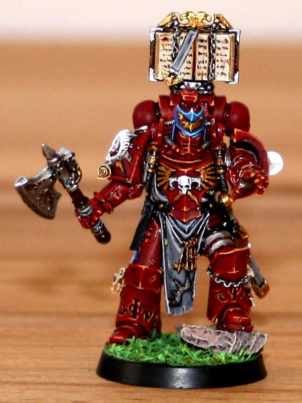 Forge World, Librarian, Red Hunters, Space Marines