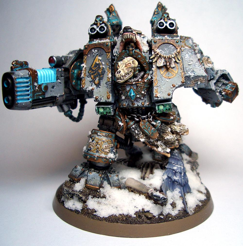 Bjorn, Dreadnought, Space Marines, Space Wolves, Venerable, Warhammer 40,000