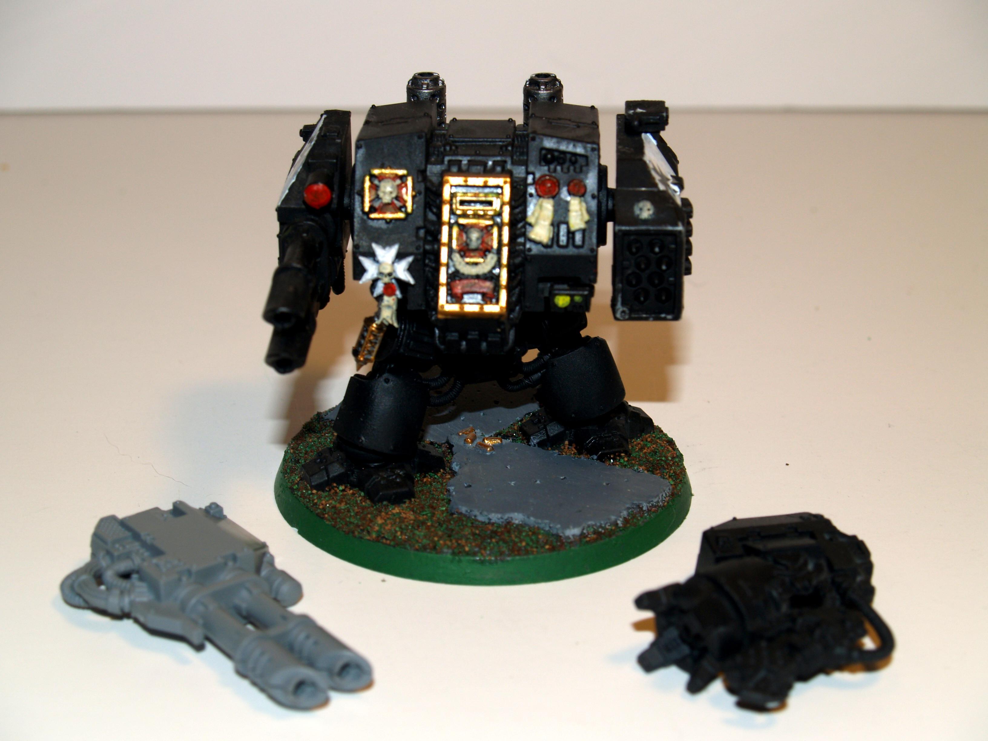 Black, Dreadnought, Painted, Templar