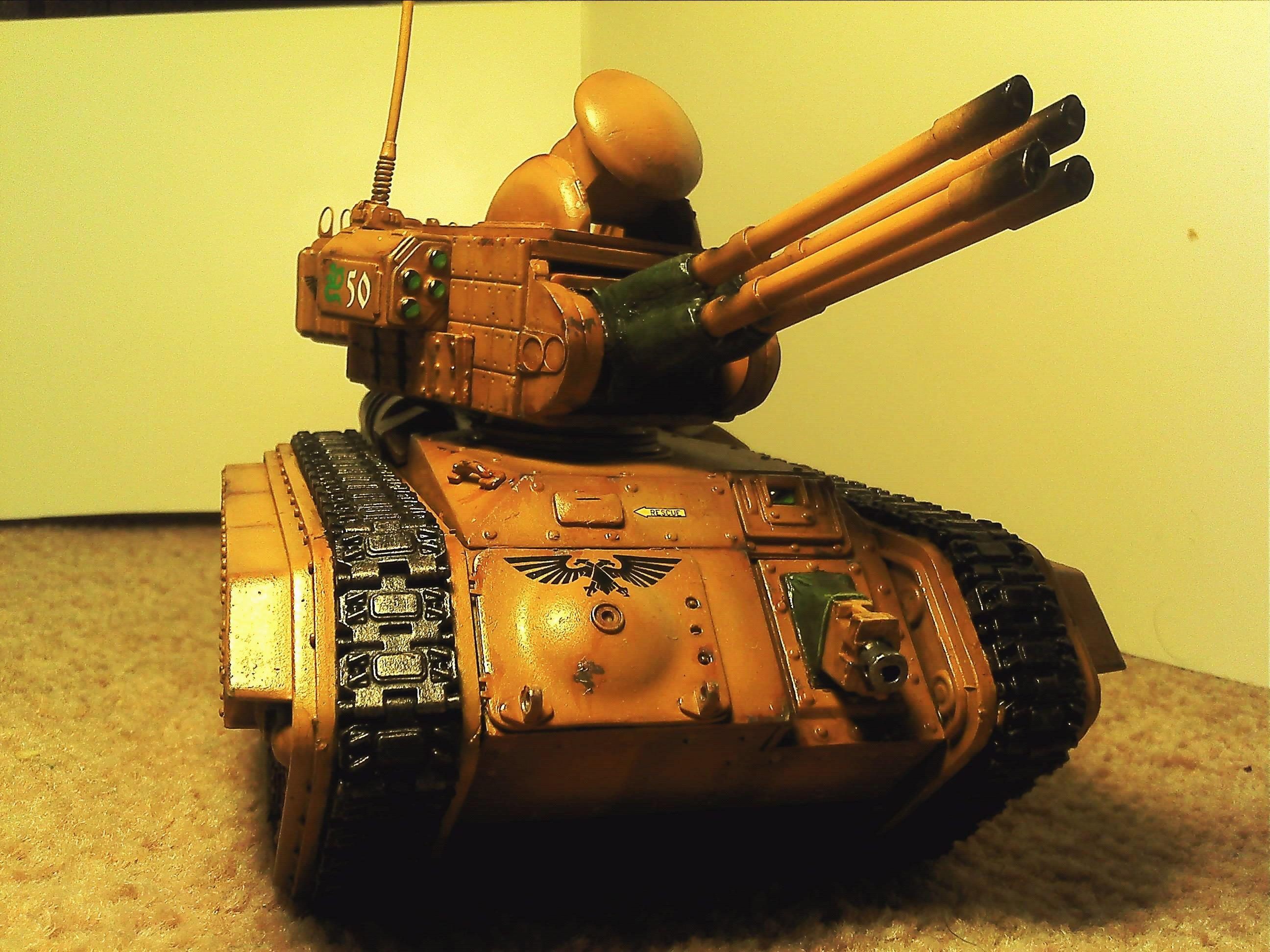 Chimerax, Conversion, Hydra, Imperial, Imperial Guard, Scratch Build, Shilka