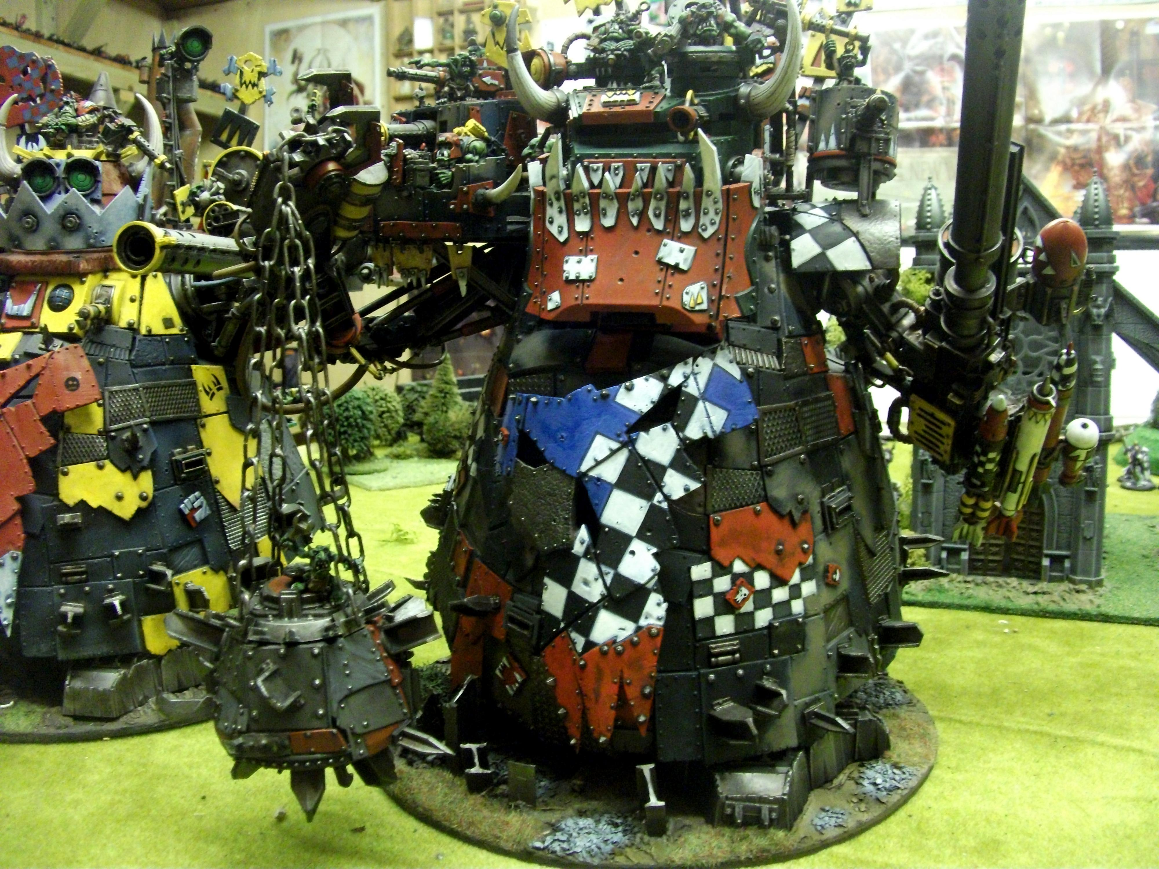 Ork Stompa, Orks, Stompa, Warhammer 40,000