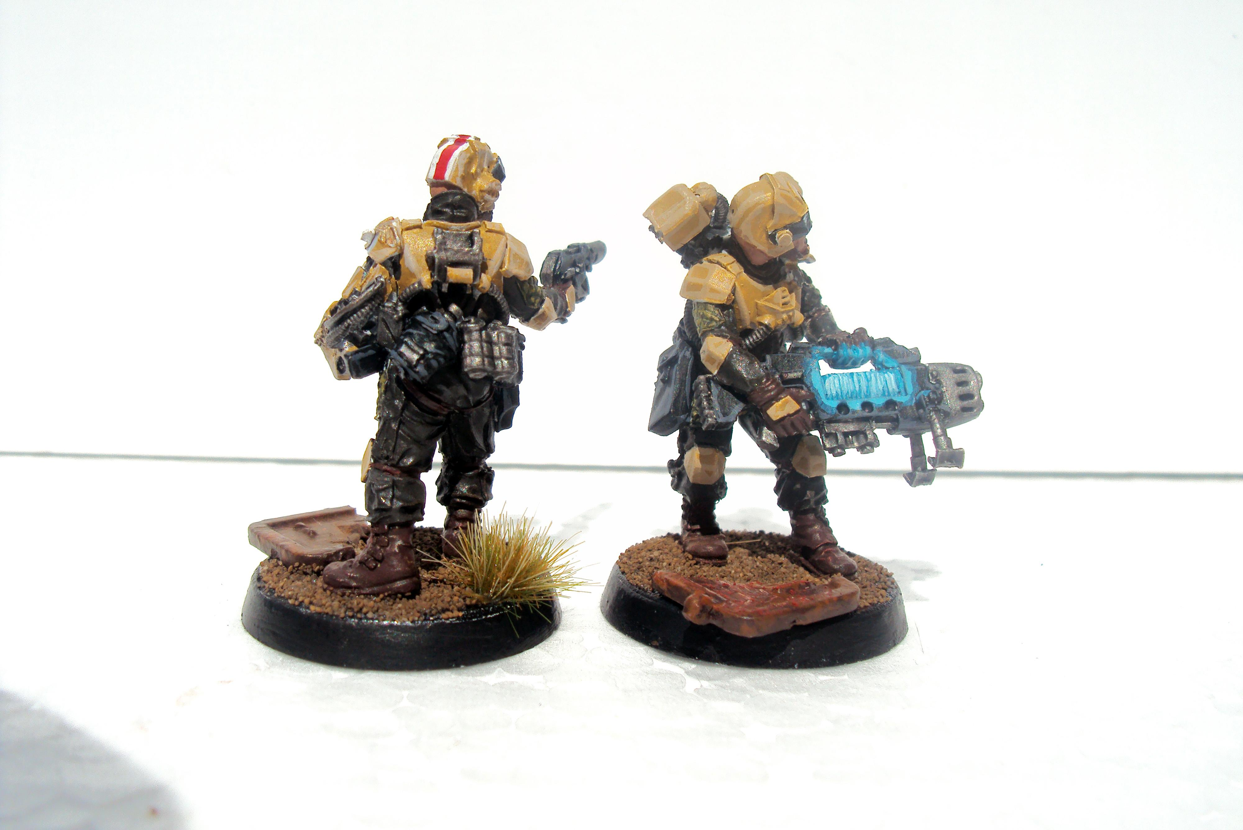 Company Command Squad, Elysians, Imperial Guard, Warhammer 40,000