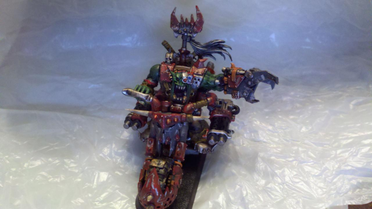 Aorb, Bike, Orks, Warbiker, Warboss, Warboss Biker, Warhammer 40,000