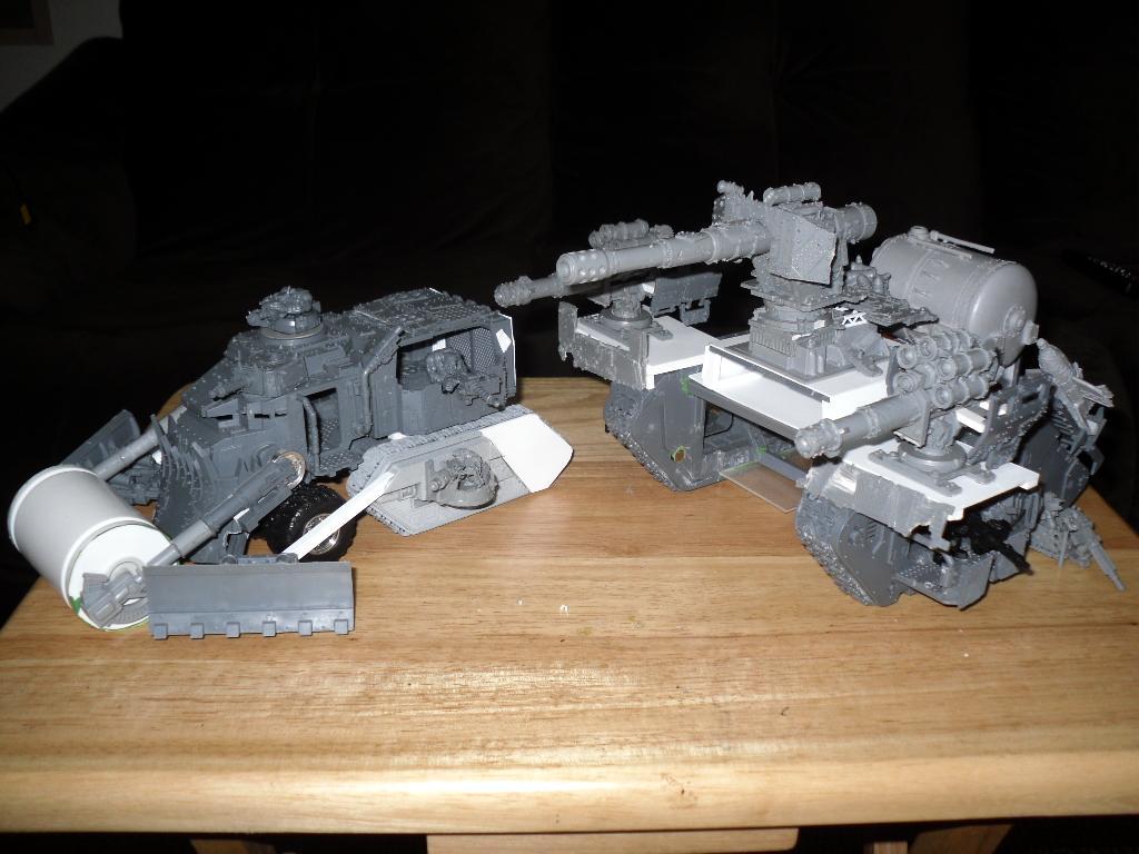 Battle Fortress, Battlewagon, Conversion, Land Raider, Orks, Super-heavy, Work In Progress