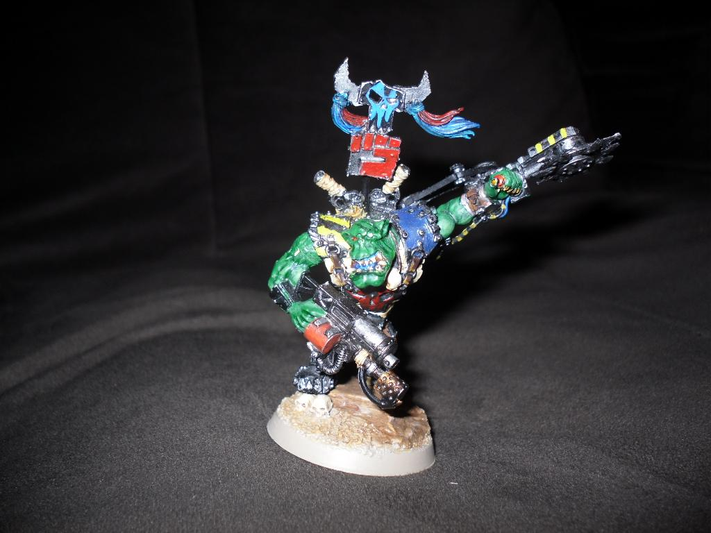 Conversion, Orks, Warboss