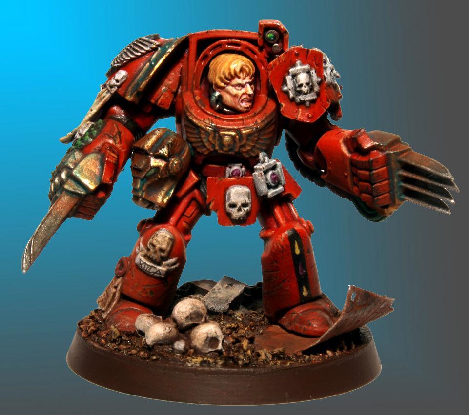 Blood Angels, Lightning Claws, Terminator Armor