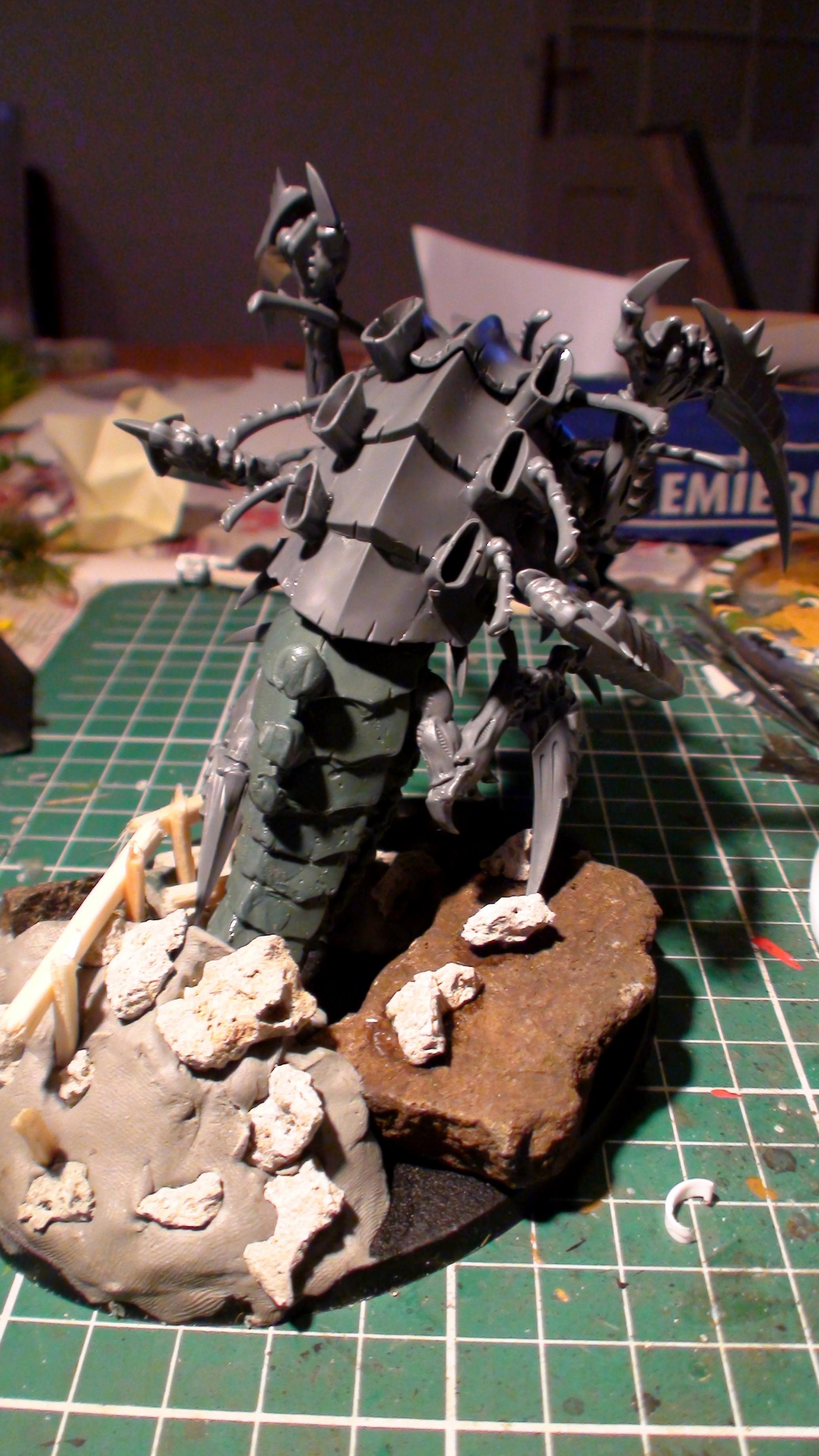Conversion, Mawloc, Prime, Swarmlord, Trygon, Tyranids, Warhammer 40,000, Work In Progress