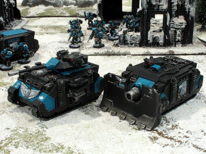 Games Workshop, Predator, Space Marines, Vindicator, Warhammer 40,000