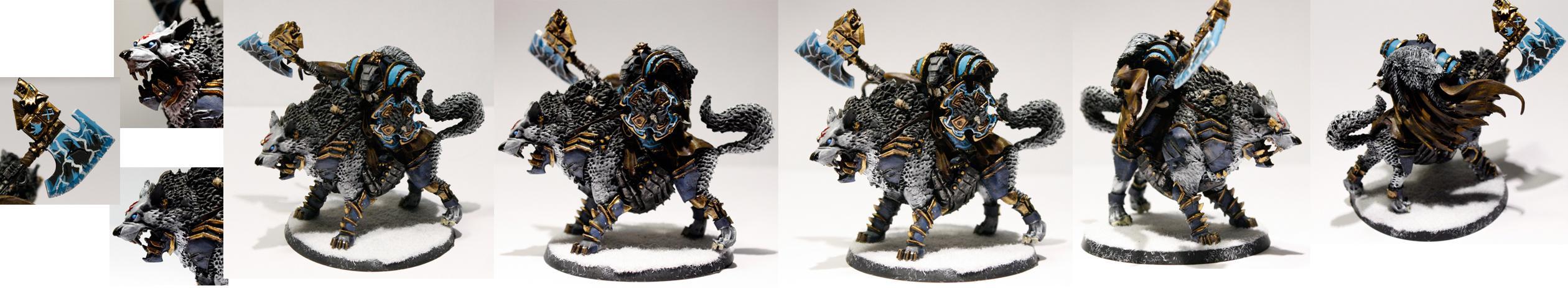 Grey Hunters, Sakrileg, Space Wolves, Standard Bearer, Storm Shield, Storm Wolves, Thunder Hammer, Thunderwolf, Wolf Lord, Wulfgar Thunderfang