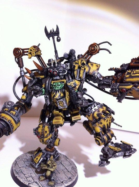Bad Moons, Conversion, Dreadknight, Marine Abuse, Orks