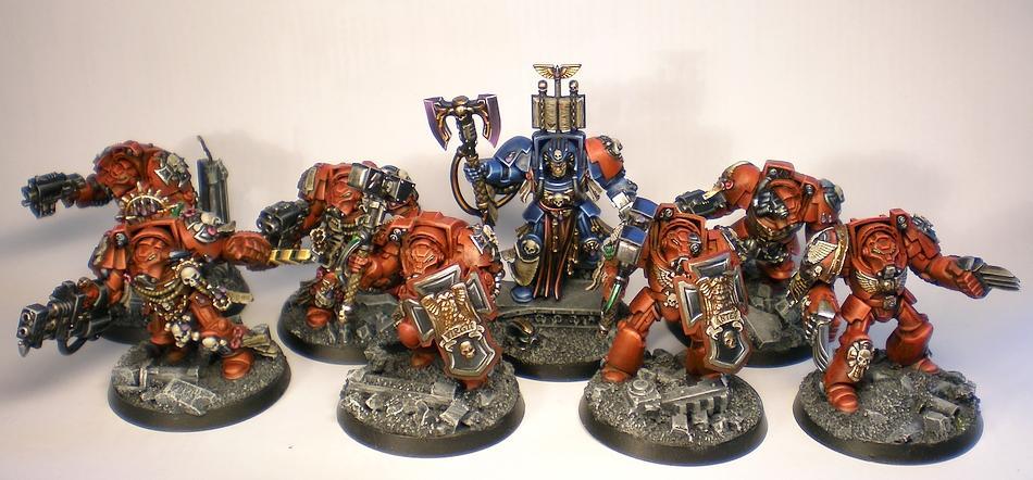 Blood Angels, Librarian, Space Hulk, Terminator Armor
